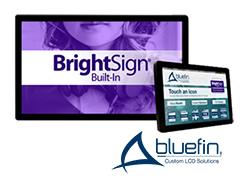 BrightSign内蔵タッチディスプレイ(在庫限りで販売終了)